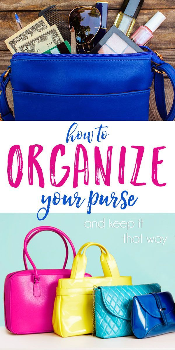 5 foolproof tips on How To Organize Your Purse and keep it that way!!