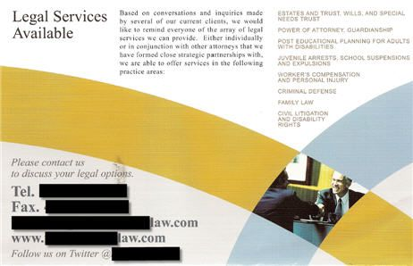 A Brochure Explaining The Legal Services That Are Available  Law