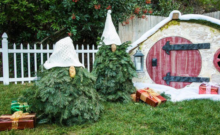 Diy Christmas Tree Gnomes Outdoor Christmas Diy Christmas Diy Diy Christmas Tree