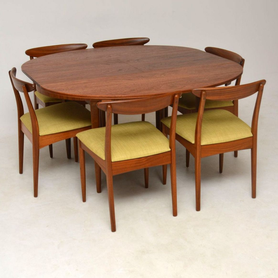 9 S Teak Dining Table And 9 Chairs By Greaves Thomas Vintage