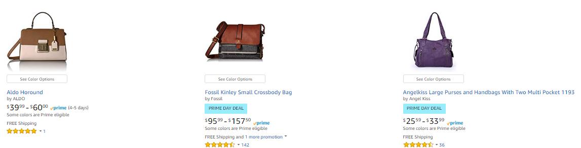 2442cb48a95 Amazon   Ton s Of Women s Handbag On Sale (As of 7 17 2018 5.41 PM ...