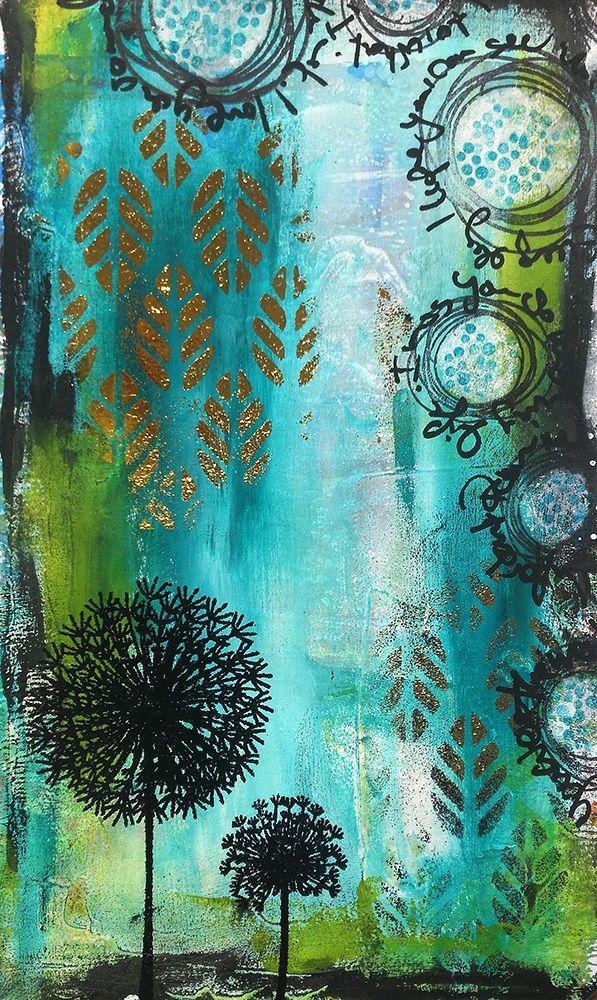 Kreativer Blog.Scrapbooking, Schmuckherstellung aus Polymer Clay. Handgemachte Karten, Mini Alben, Perlen, Ketten, Mixed Media. Susanne Rose. #rubberstamping