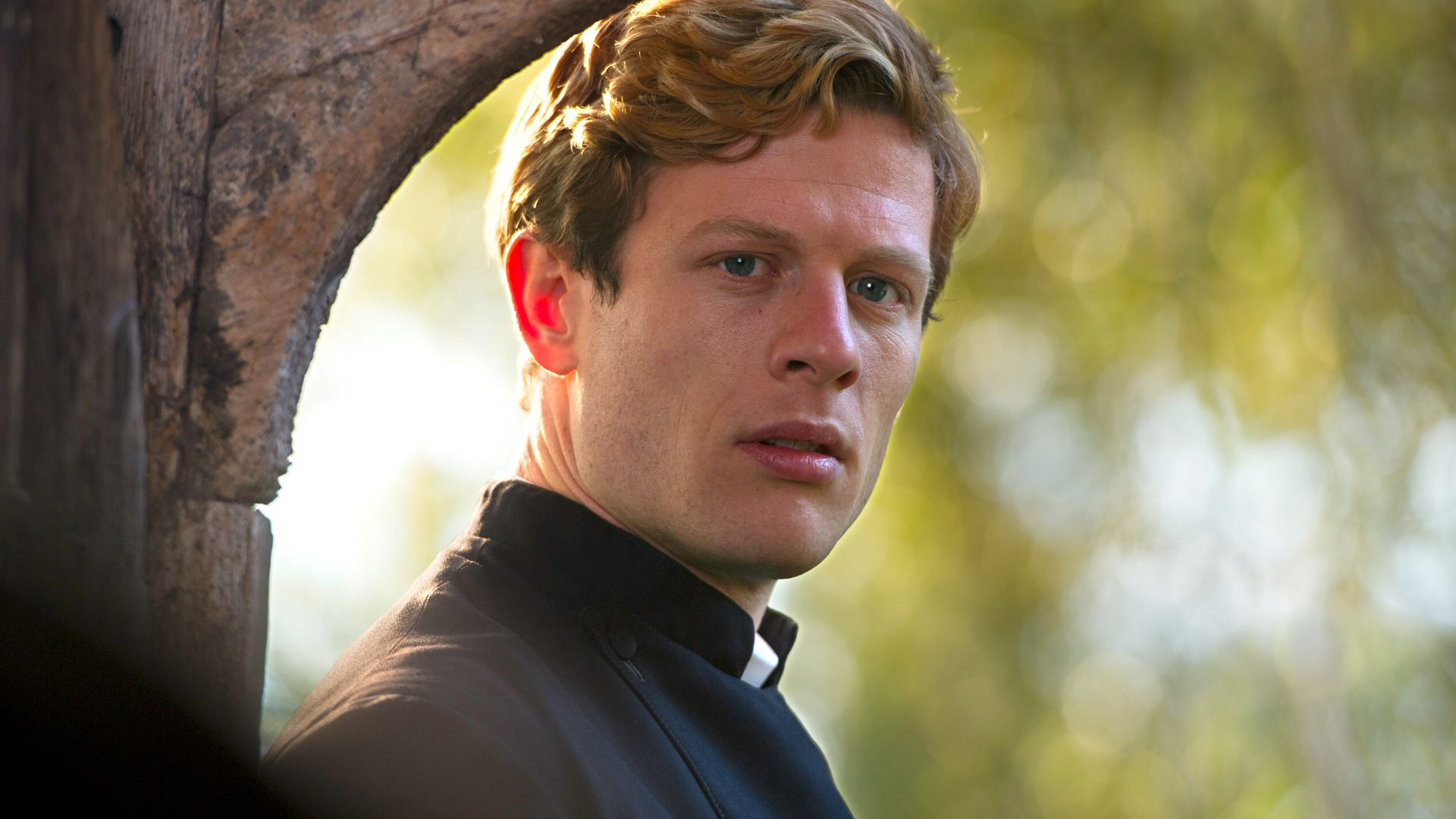 A dashing vicar detective is presented by pBS Masterpiece in 'Grantchester'