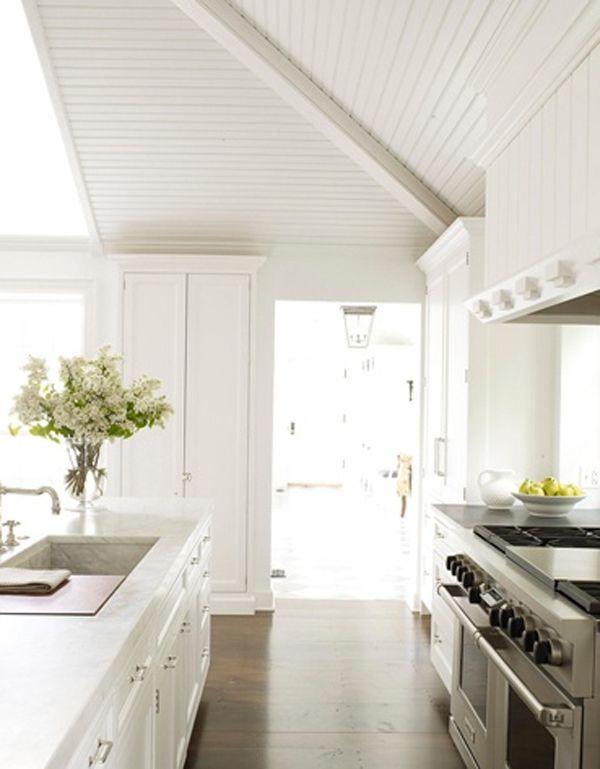 Klassische küche kiefer  31 Schöne weiße Küche mit Minimalist