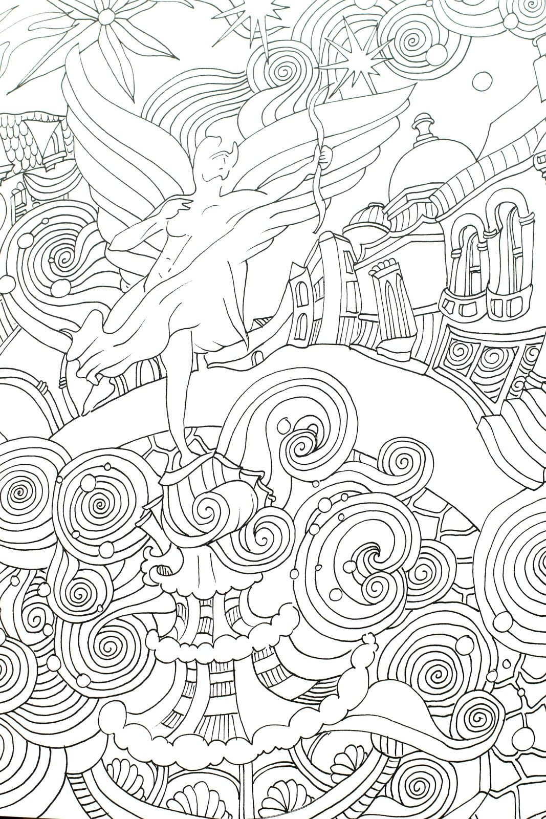 The Magical City Coloring Book | Color Me Crazy | Pinterest ...