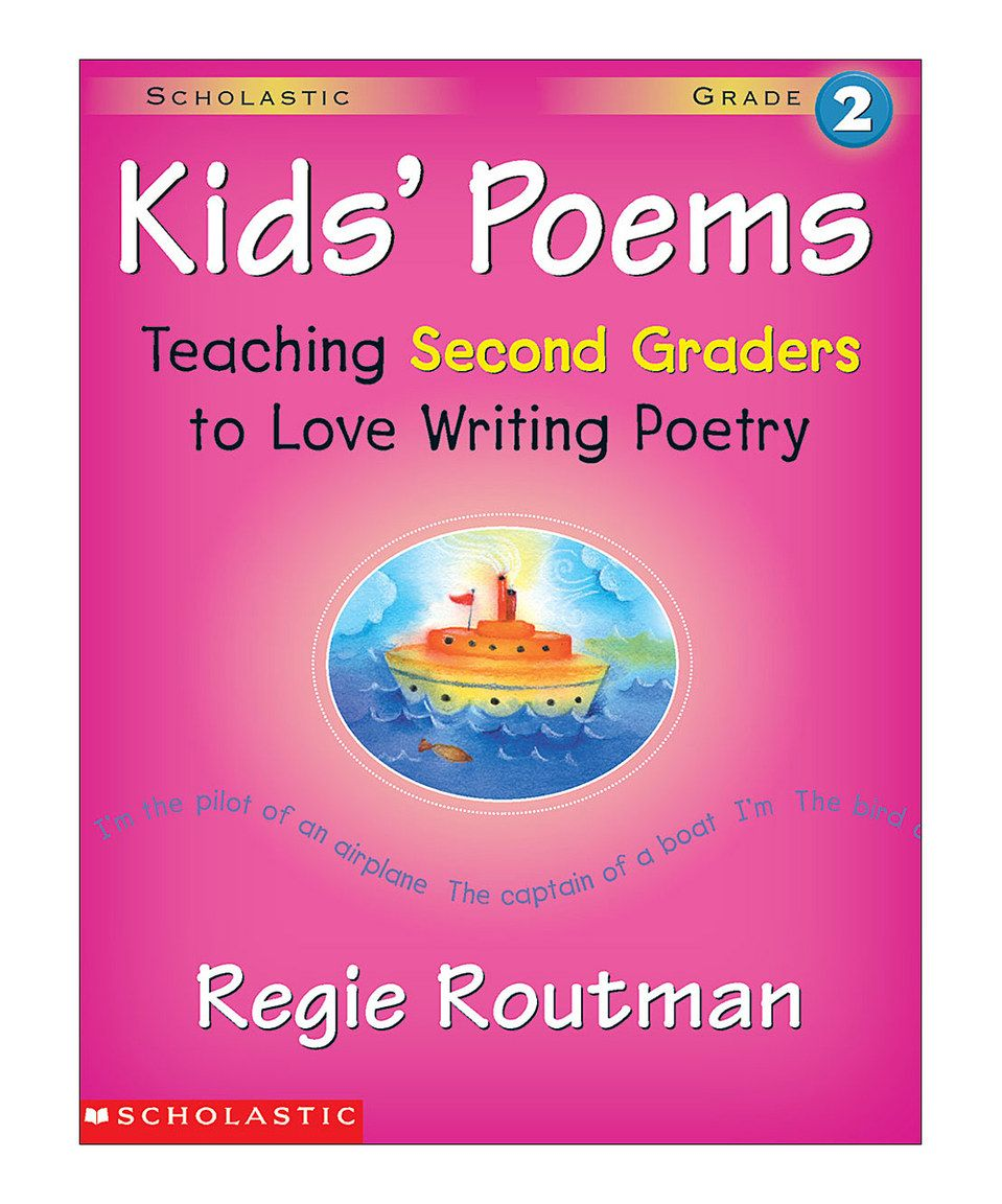 Another great find on #zulily! Grade 2 Kids' Poems Workbook by Scholastic Teaching Resources #zulilyfinds