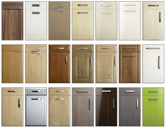 Laminate Kitchen Cabinet Doors Replacement in 2020 | New ...