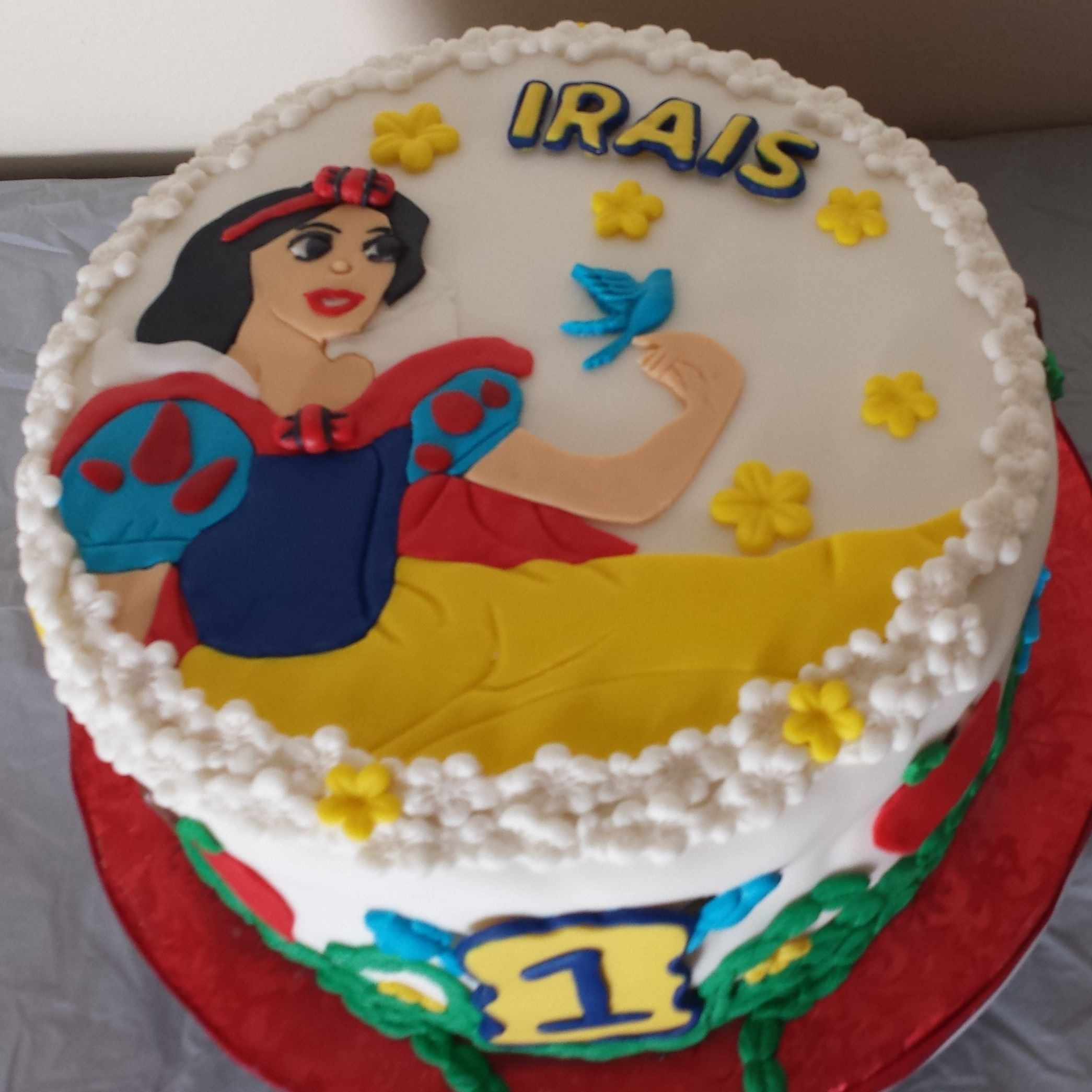 Snow White Birthday Cake Los Angeles CA