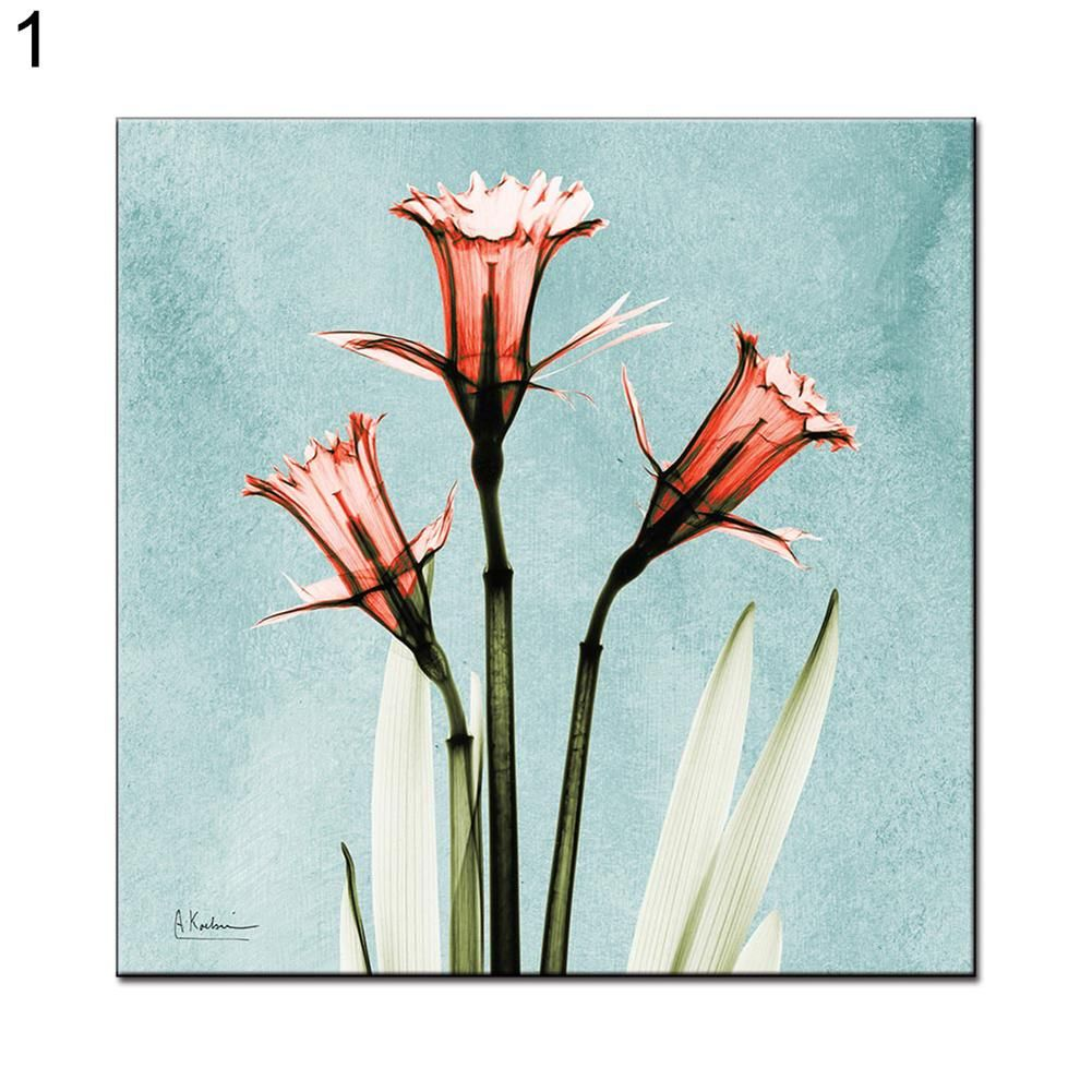 Photo of Flower Floral Canvas Print Wall Art Painting Poster Picture Bedroom Home Decor – as the picture r