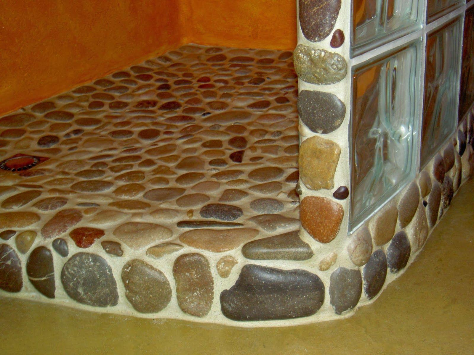 Ducha de piedras bibloqueta pinterest ducha de for Duchas rusticas piedra