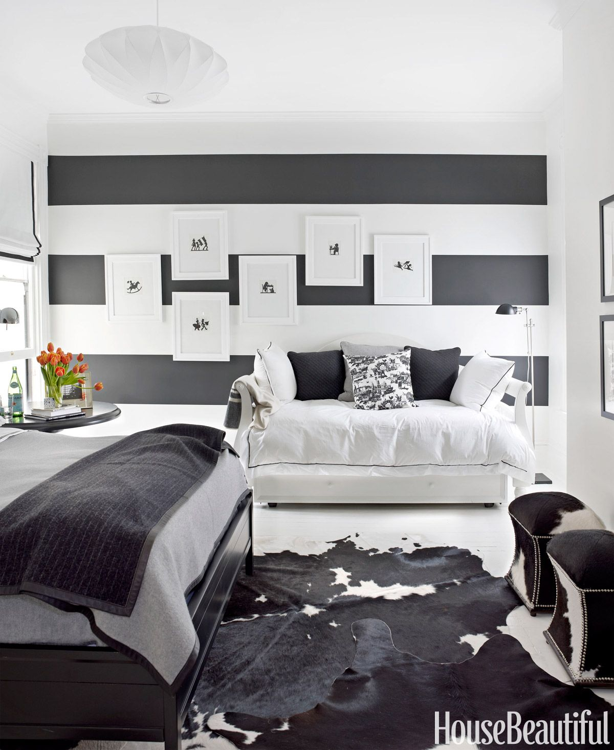 How To Decorate With Black-and-White | Pinterest | Rorschach inkblot ...