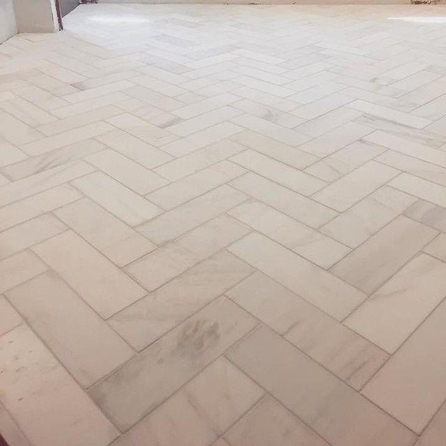 royal satin white marble subway wall