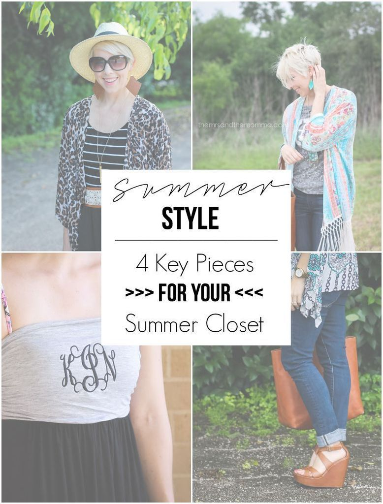 the MRS. & the MOMMA: Summer Style   4 Looks For Late Summer
