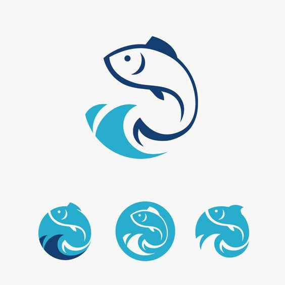 Fish Logo Vector Design Fish Clipart Logo Icons Fish Icons Png And Vector With Transparent Background For Free Download Fish Logo Fish Icon Vector Logo