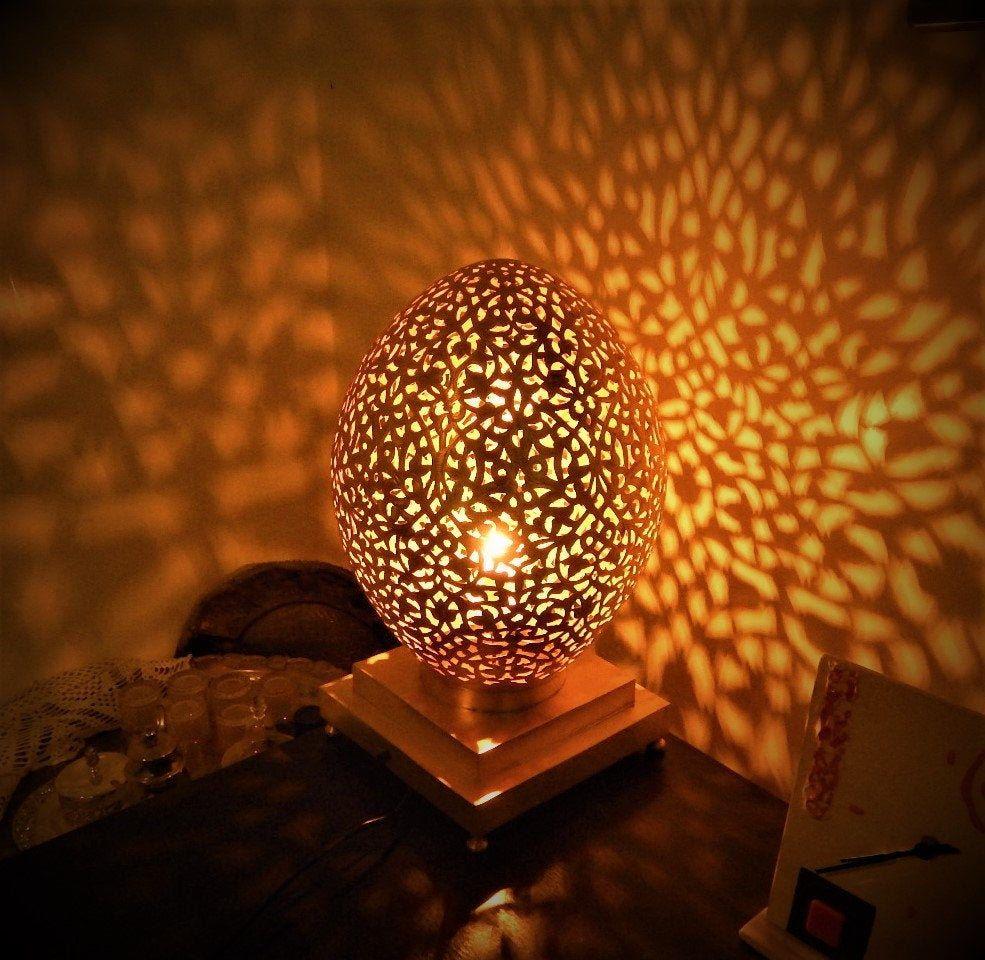 Moroccan Design Table lamp Moroccan Treasures with beautiful Pattern Light Bohemian Home Decor Modern Lighting a Designer Decor