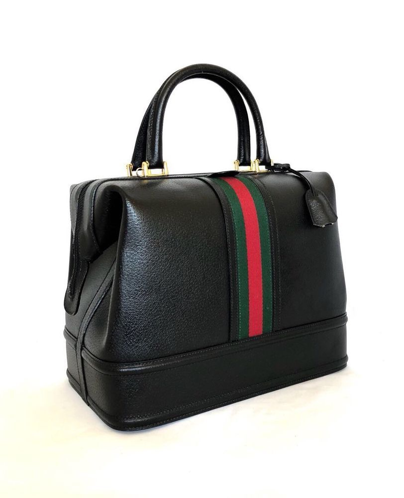 ed19c4577 Gucci Vintage Web Doctor Bag | eBay | Gucci vintage handbags ...