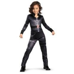 Avengers Black Widow Girls Superhero Childs Fancy Dress Childrens Kids Costume