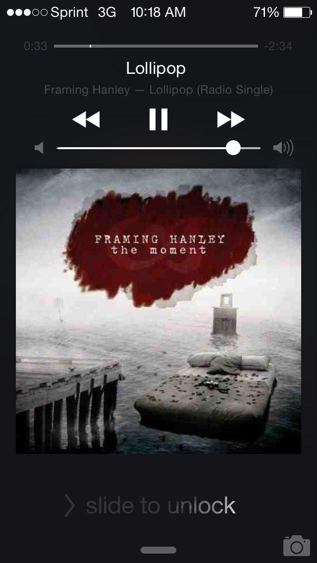 Framing Hanley- Lollipop   Pandora music   Pinterest