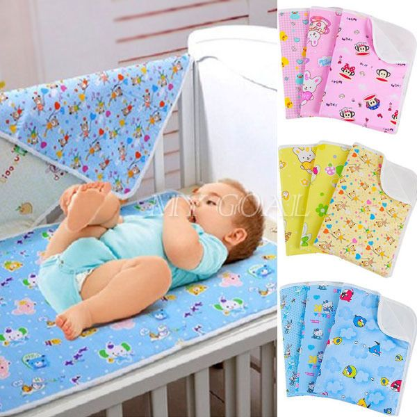 Baby Kids Waterproof Protector Mattress Sheet Bedding Diapering