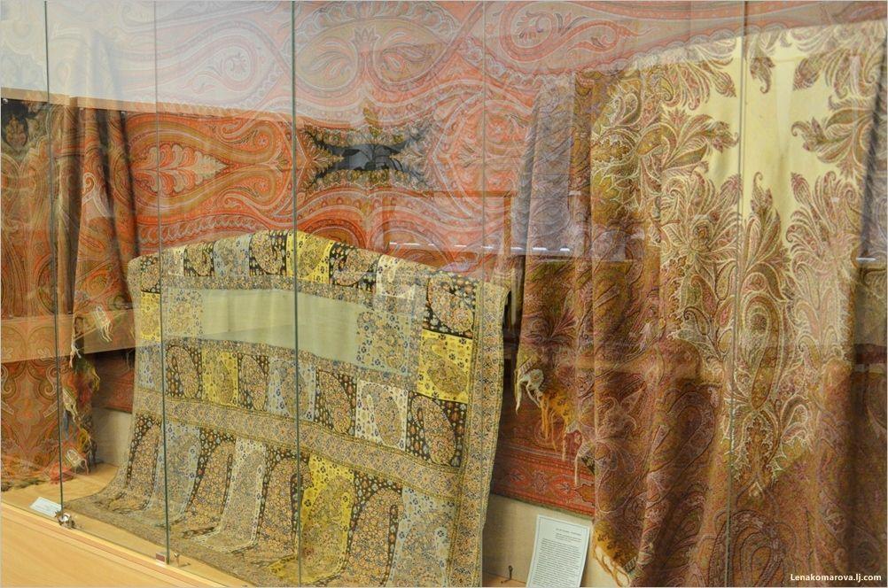 история русских платков и шалей