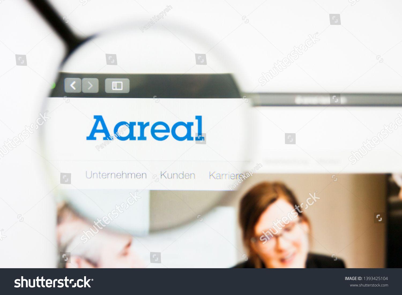 Los Angeles California Usa 8 April 2019 Illustrative Editorial Of Aareal Bank Website Homepage Aareal Bank Log Stock Photos Photo Editing Abstract Photos