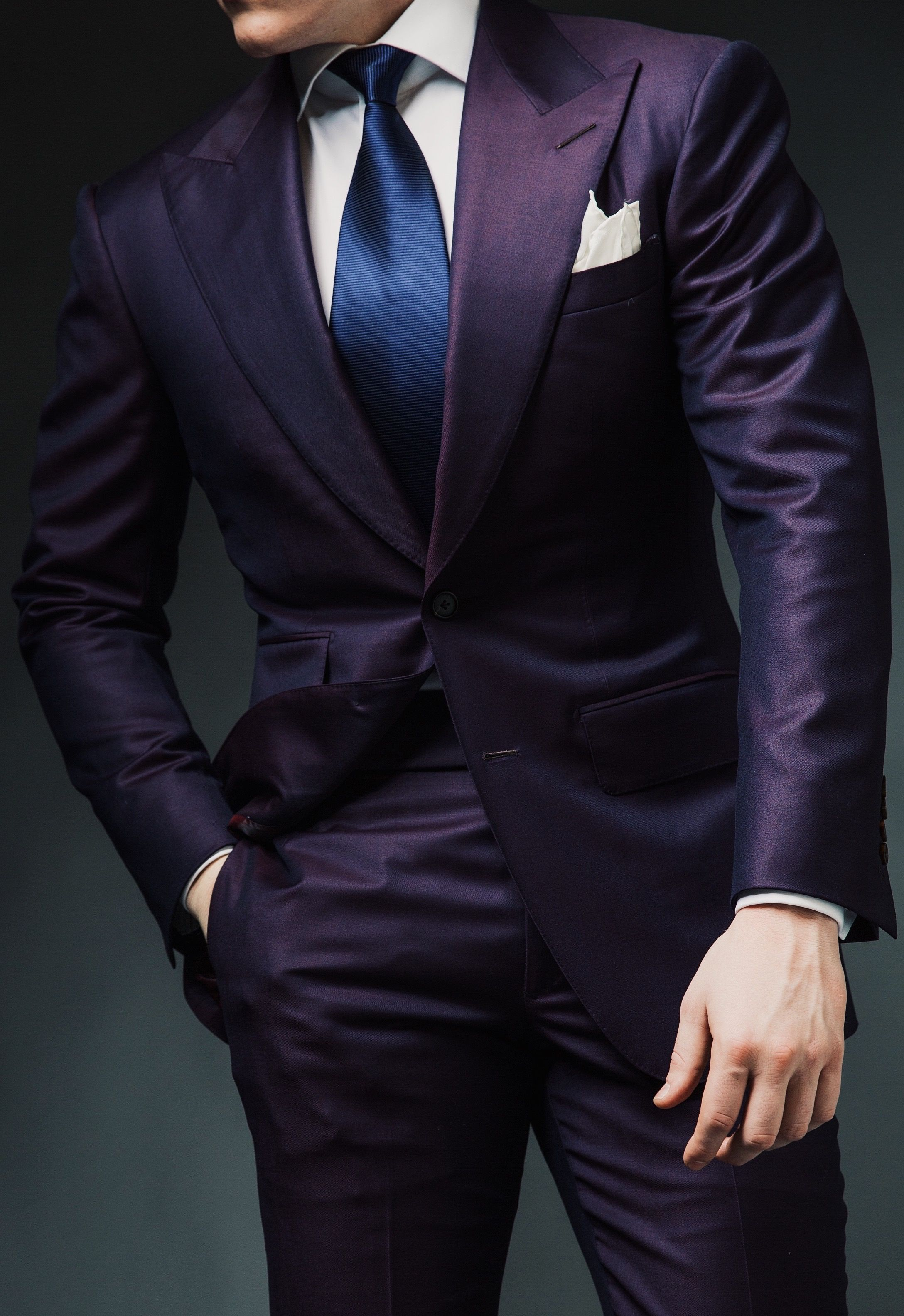 CharlesDeanOfficial  Purple suits, Well dressed men, Suit fashion