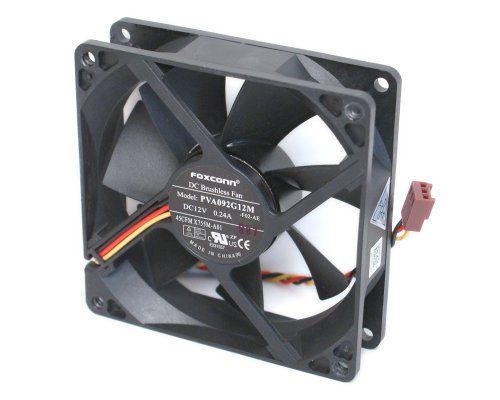 Foxconn Pva092g12m Dc12 Volt 0 24 Amp Rear Case Brushless Cooling