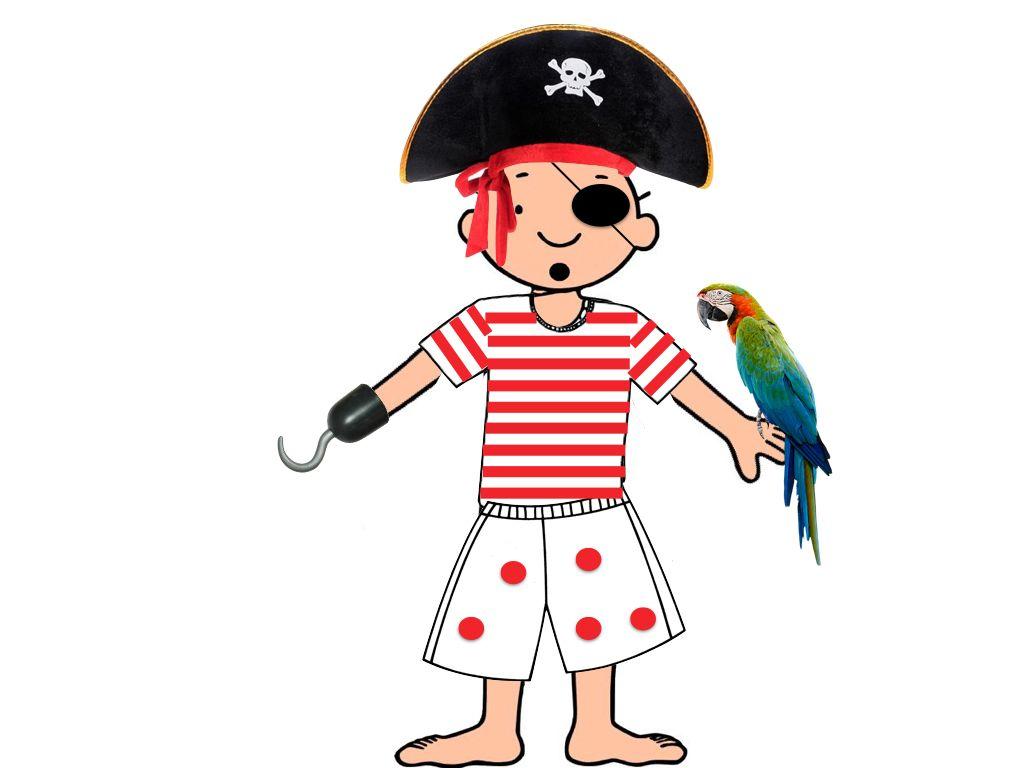 Jules, een verschrikkelijke piraat. Thema 'piraten'. Het eerste klasje.