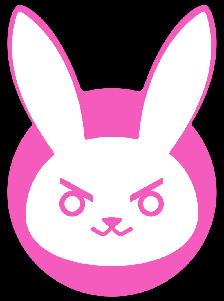 I Love This D Va Bunny Logo So Much Overwatch Wallpapers Overwatch Tattoo Overwatch Costume