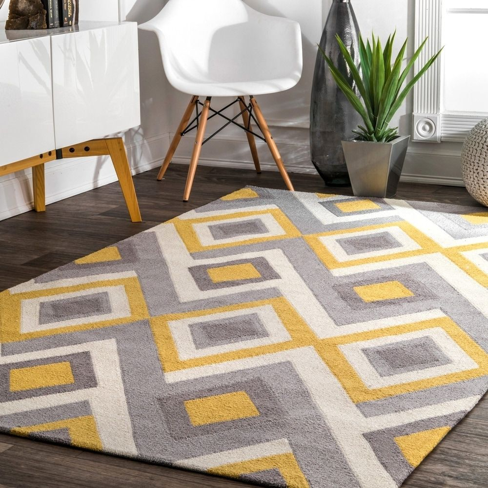 Overstock Com Online Shopping Bedding Furniture Electronics Jewelry Clothing More In 2020 Grey And Yellow Living Room Rugs Area Rugs #sunflower #living #room #rug
