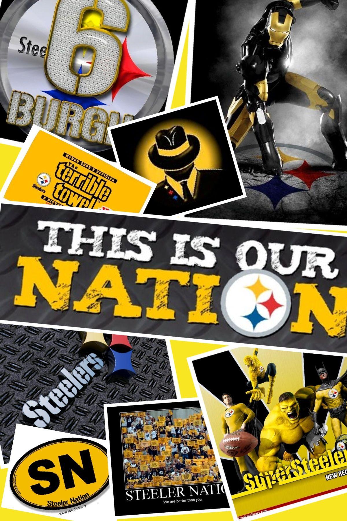 Pittsburgh Steelers Pittsburgh steelers logo, Steelers