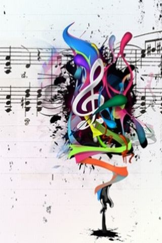 Cell Phone Wallpapers Music Instruments Musicians Notes Musical Cellphone Wallpaper
