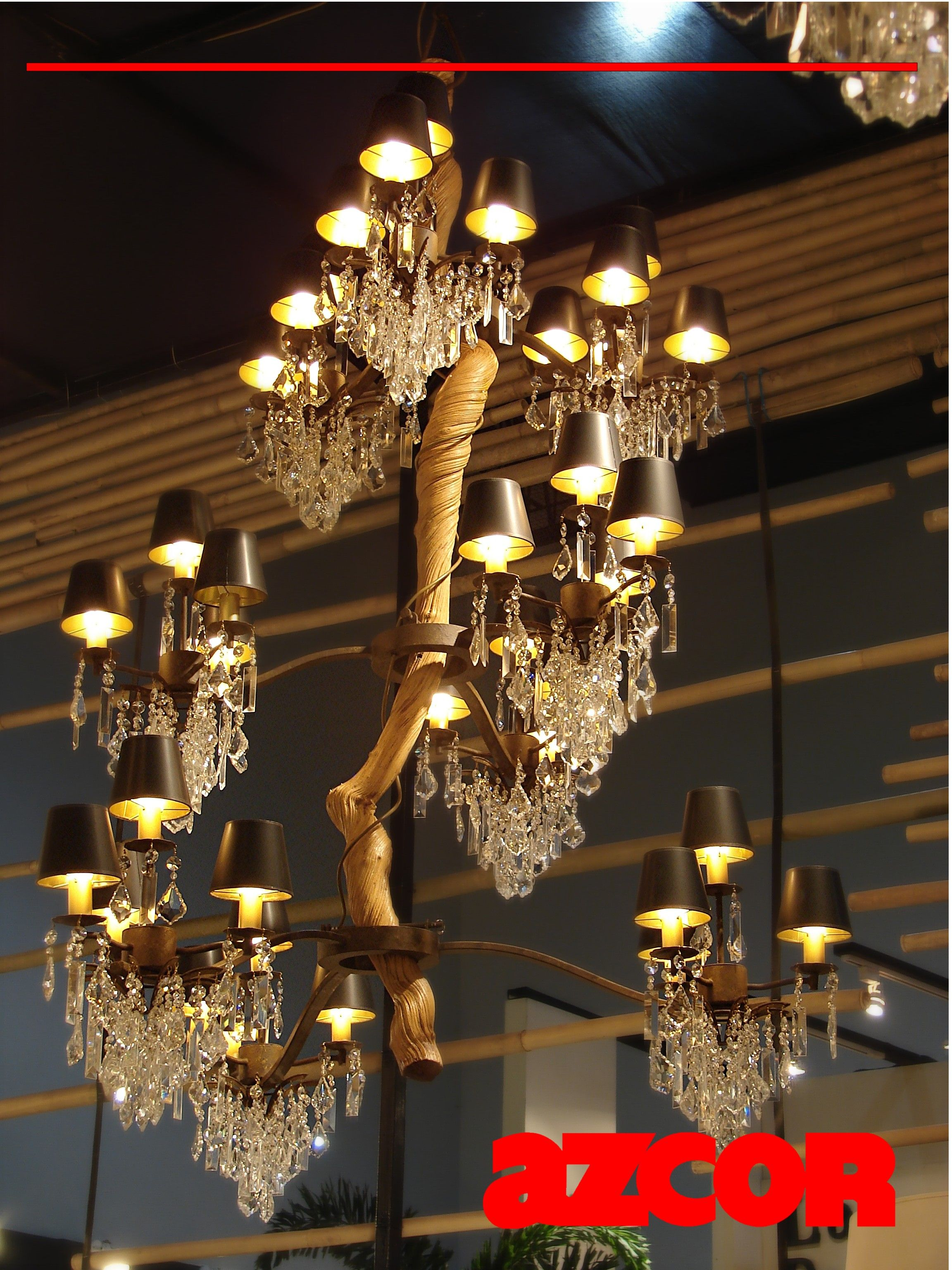 Twisted vine chandelier 36 ceiling lighting pinterest twisted vine chandelier 36 aloadofball Image collections
