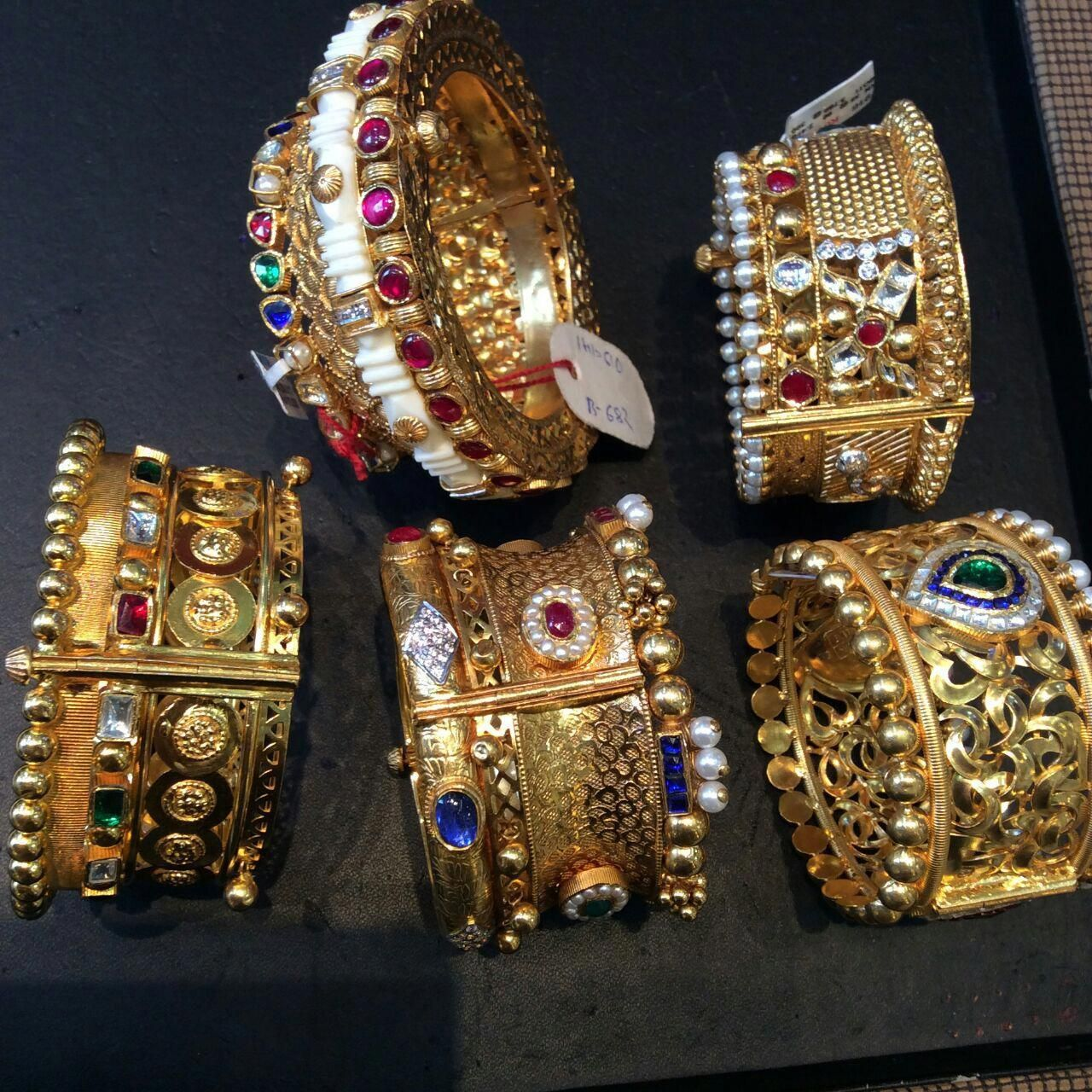 GoldJewelleryRajasthani bridaljewelleryartificial