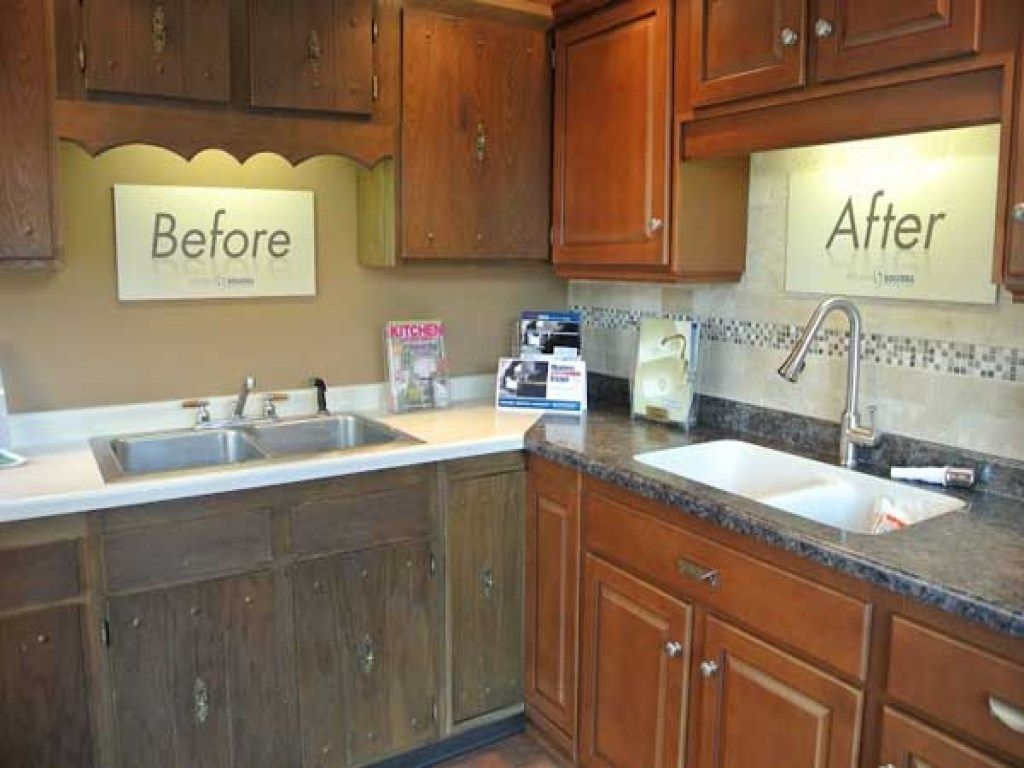 How To Refacing Kitchen Cabinets Diy