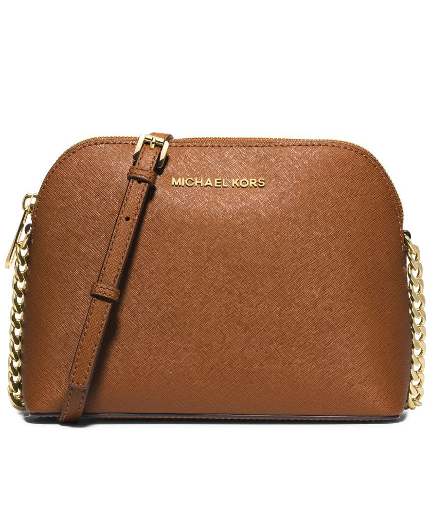6cd9bf0298a0 MICHAEL Michael Kors Cindy Large Dome Crossbody $168 | Purses in ...