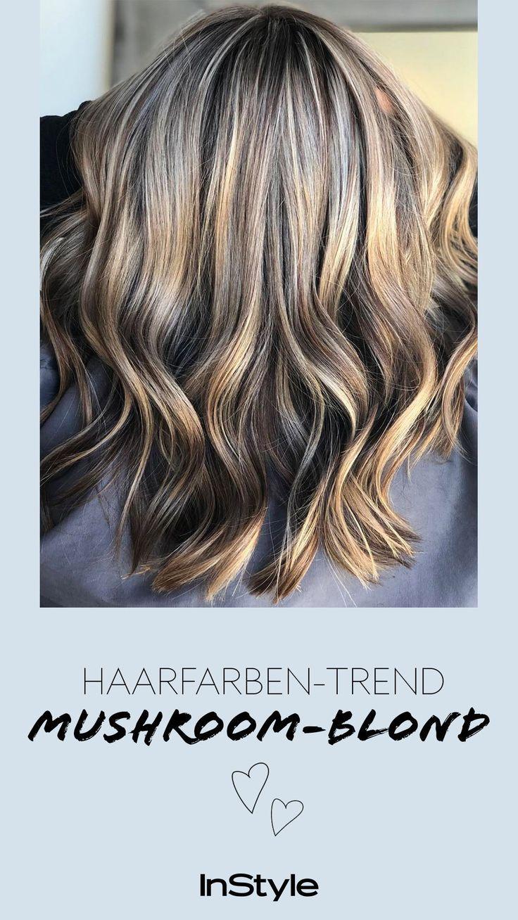 Frisuren Trend 2019: Mushroom Blonde ist die perfekte Farbe für blonde und braune Haare #brownhaircolors