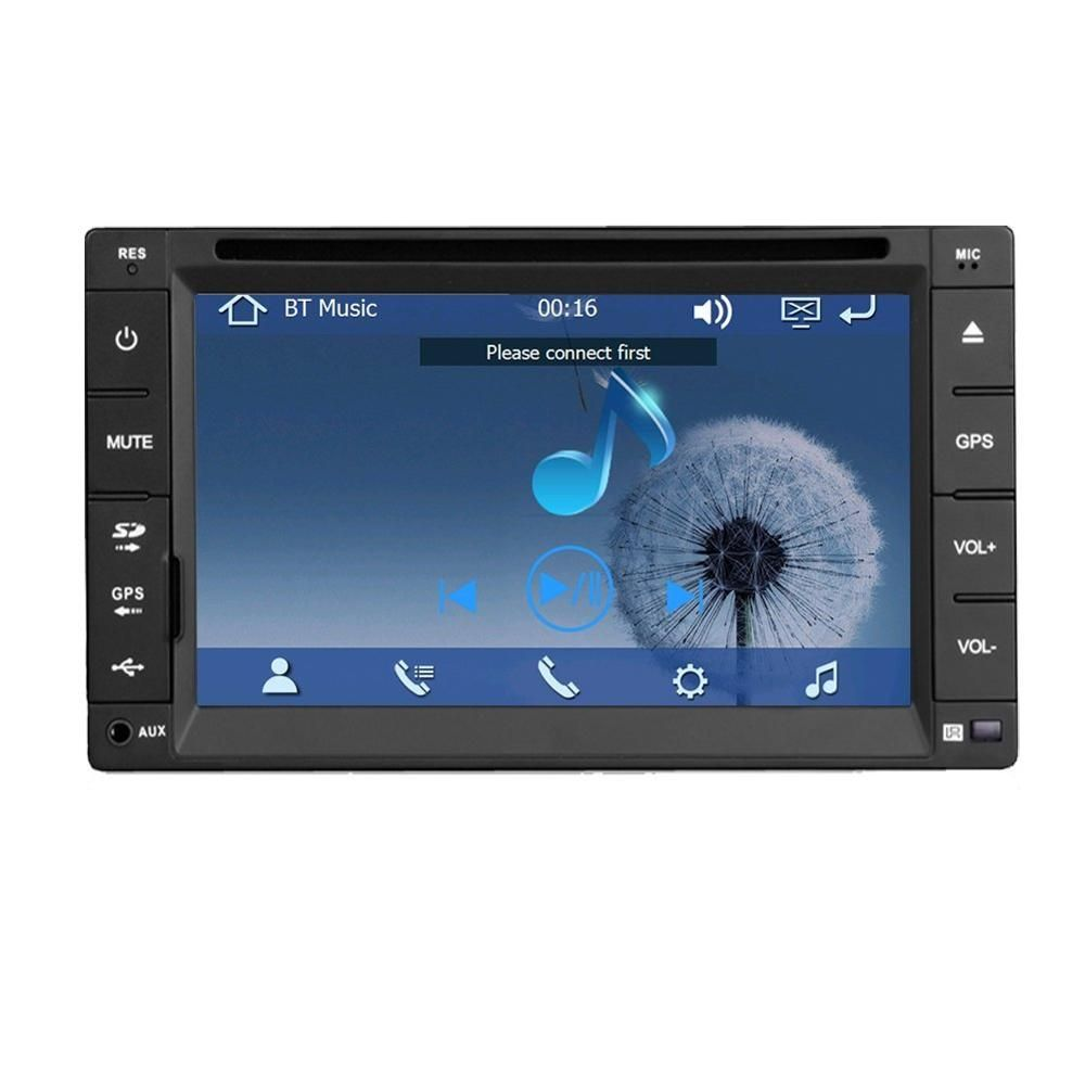 Car Electronic Double 2 Din Car Dvd Player Auto Radio Gps In Dash Car Pc Stereo Video Free Gps Map For Vw Universal Car Stereo Car Radio Car Dvd Players