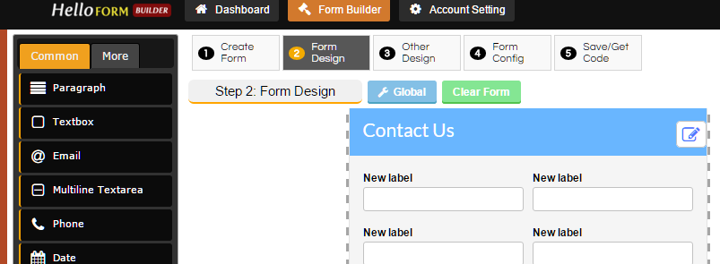 Hello Form Builder with jQuery & PHP - http://jqueryplugins.net ...