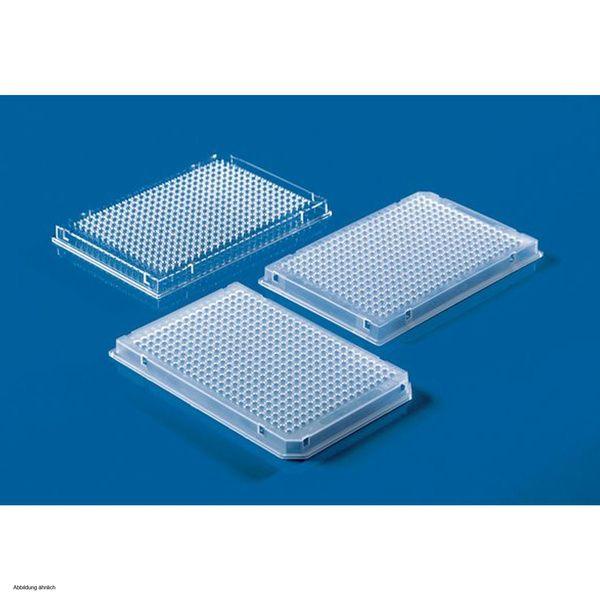 BRAND 384 pocillos Placas PCR de, falda llena, 0,04 ml