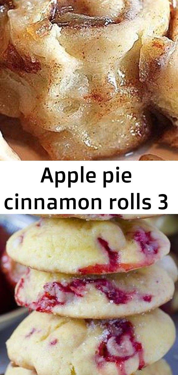 Apple pie cinnamon rolls 3 #strawberrycinnamonrolls