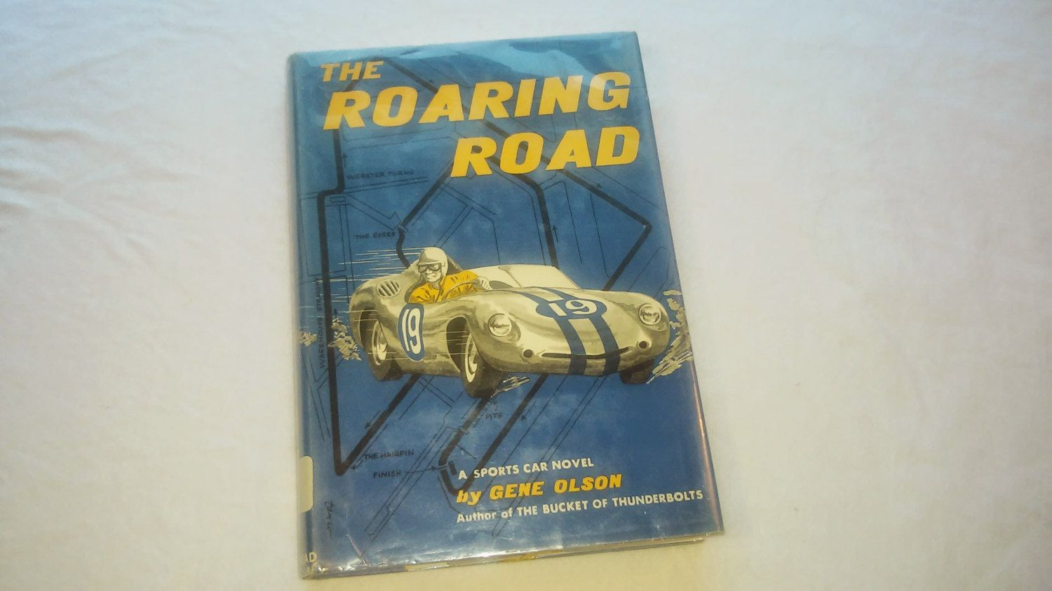 """Vintage Young Adult Racing Book, """"The Roaring Road"""" by"""