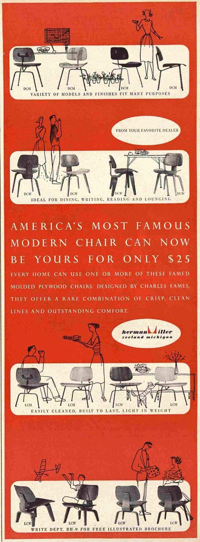 Remarkable Eames Americas Most Famous Modern Chair Vintage Frankydiablos Diy Chair Ideas Frankydiabloscom