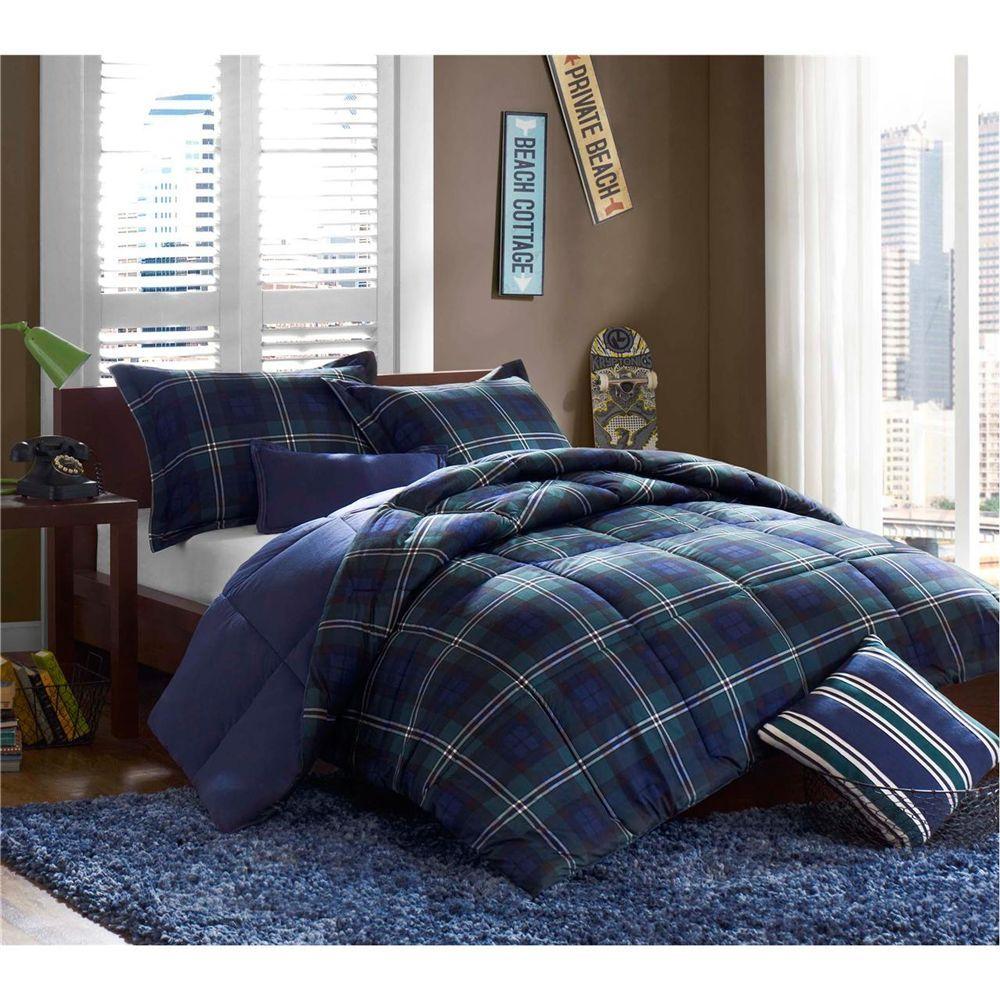Teen Bedding Mizone Adam 4 Piece Comforter Set Multi