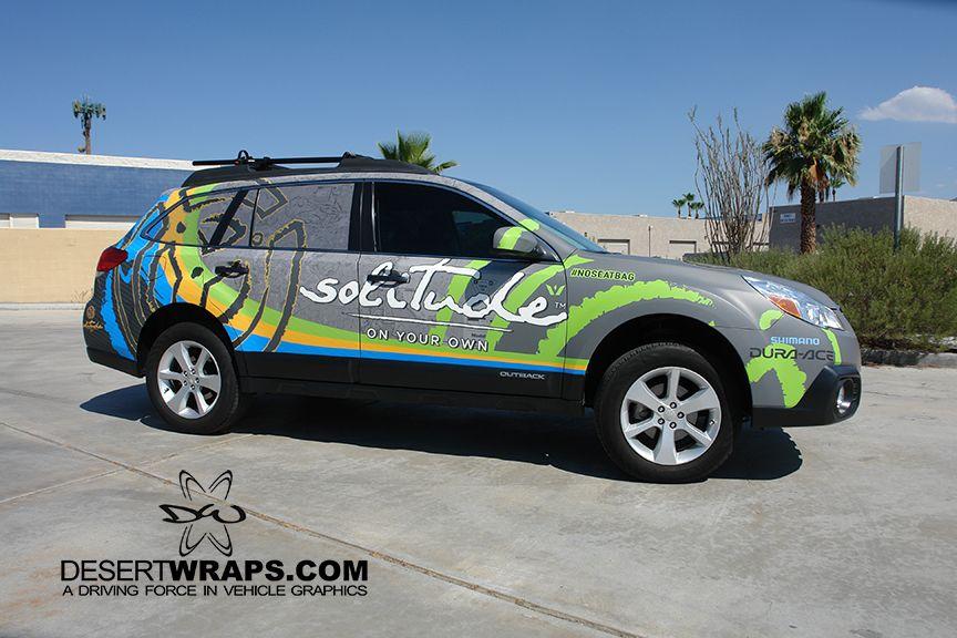 Subaru Outback High Quality And High Resolution Vinyl Wrap Wrap Install By Desertwraps Com Located In Palm Desert Ca 76 Subaru Outback Car Graphics Car Wrap