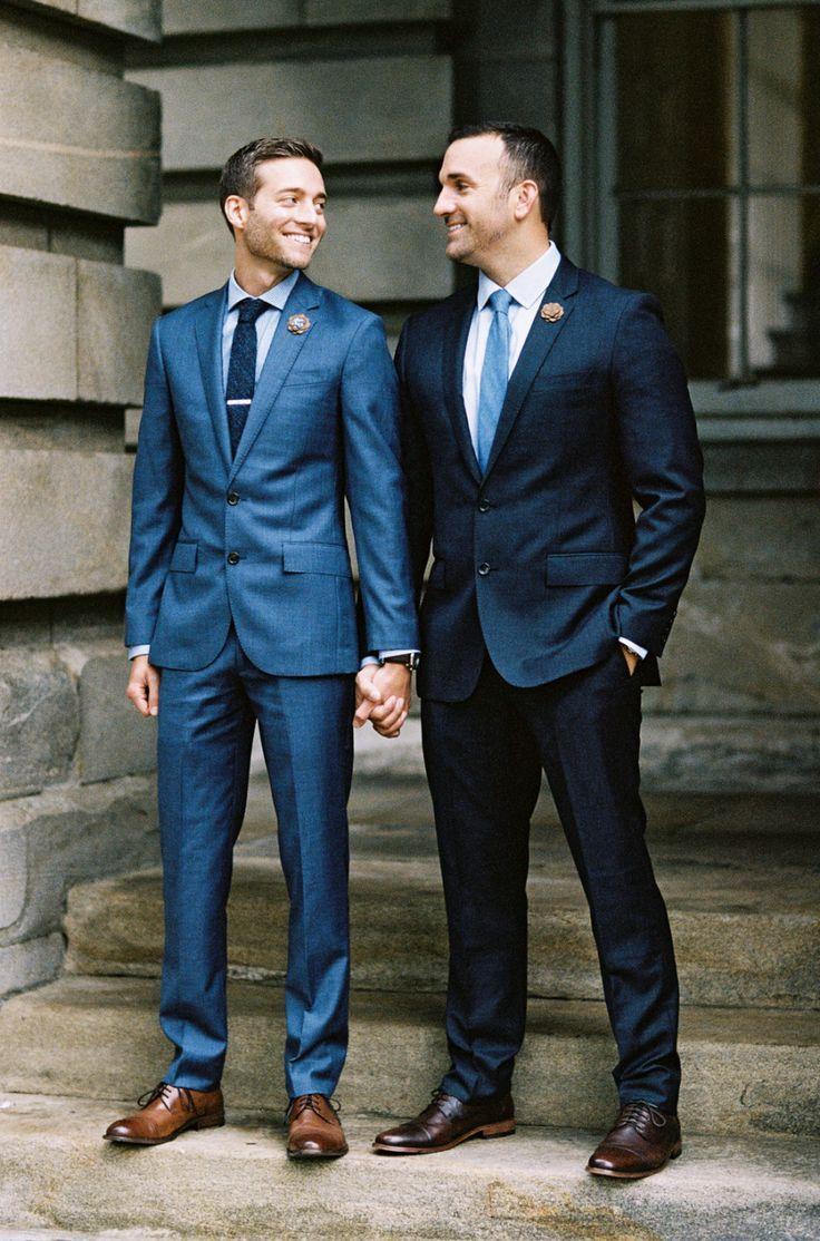 Intimate + Elegant Same-Sex Fall Wedding in North Carolina | Read ...