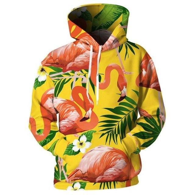 Men Women 3D Print Flower Hoodie Hip Hop Casual Hoodies Autumn//Winter Hoody