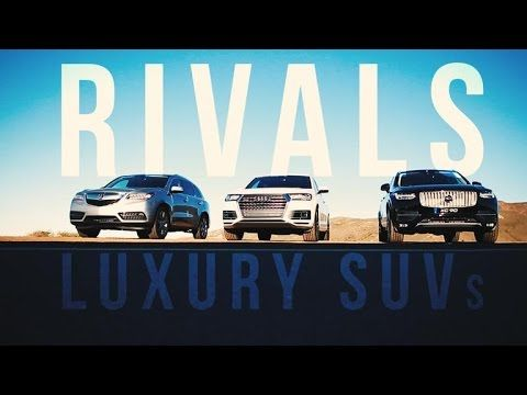 Rivals Living The High Life With Three Of The Richest Suvs Volvo Xc90 Volvo Audi Q7