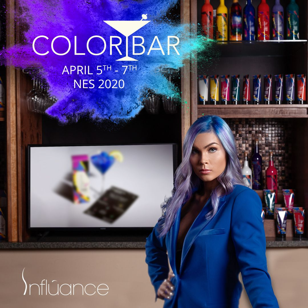 Influance Hair Care NES 2020 Color Bar in 2020