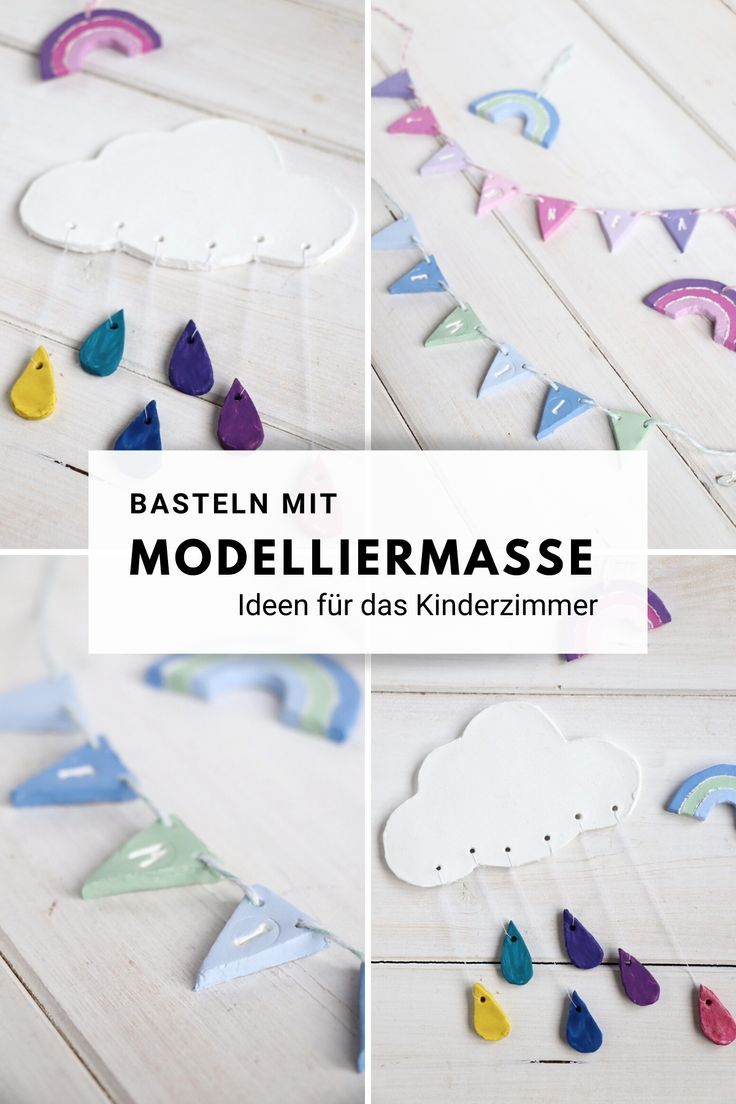 Modelliermasse: Ideen für das Kinderzimmer - Lavendelblog